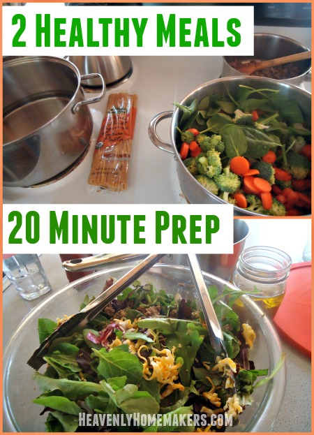 2 Healthy Meals in 20 Minutes