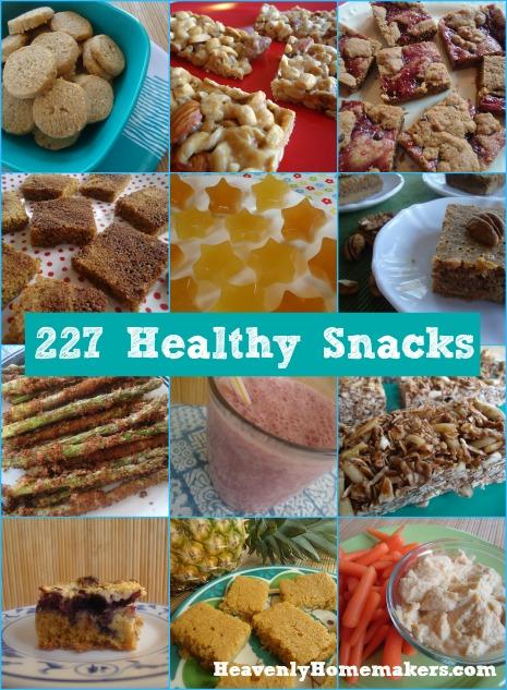 227 Healthy Snacks