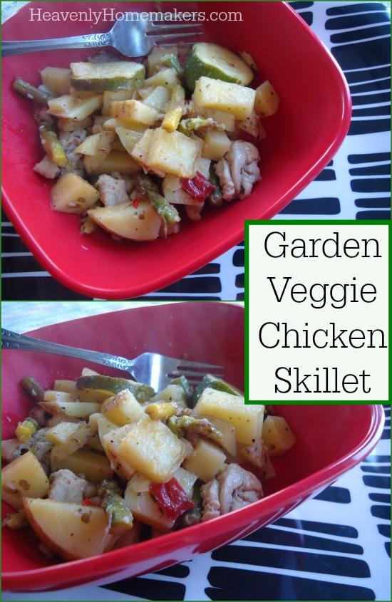 Garden Veggie Chicken Skillet