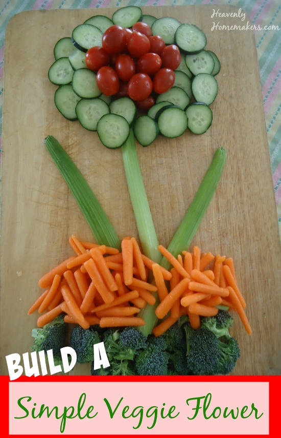 Build a Simple Veggie Flower