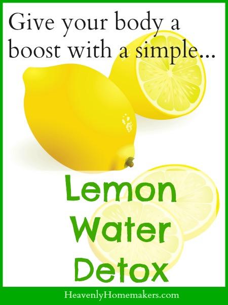Lemon Water Detox - Simple!