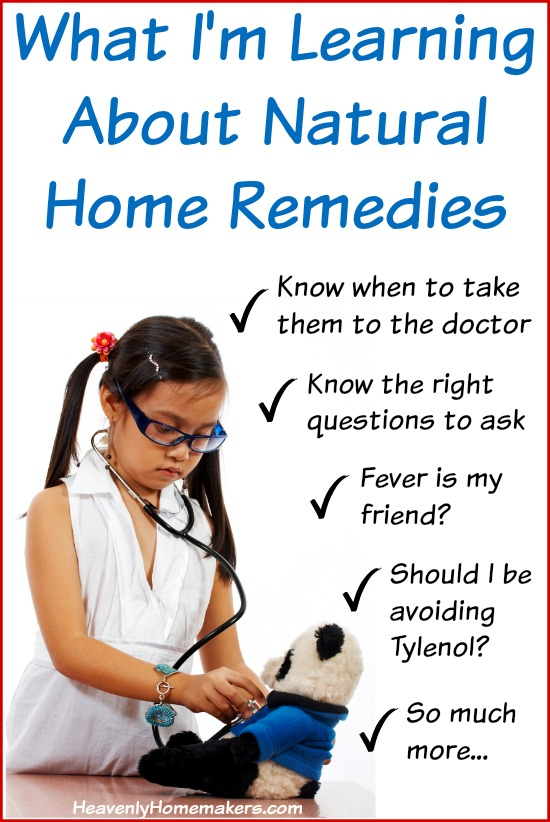 What I'm Learning About Natural Home Remedies