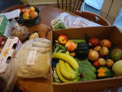 groceries april 25