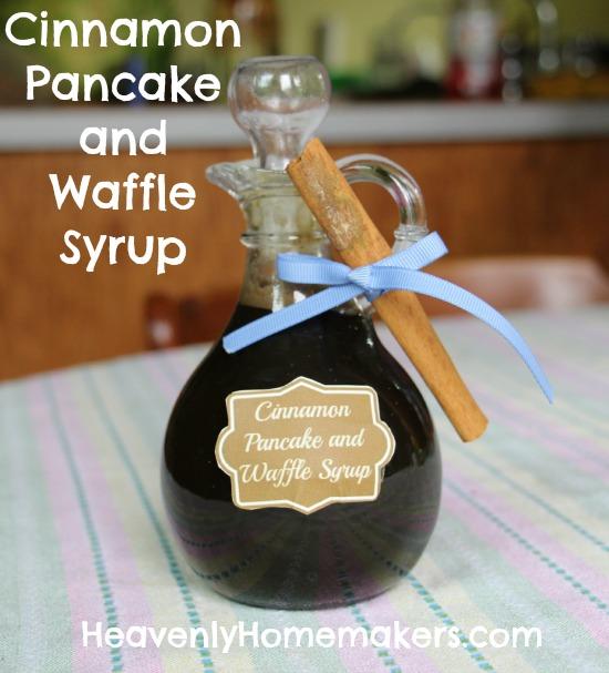 Cinnamon Pancake and Waffle Syrup