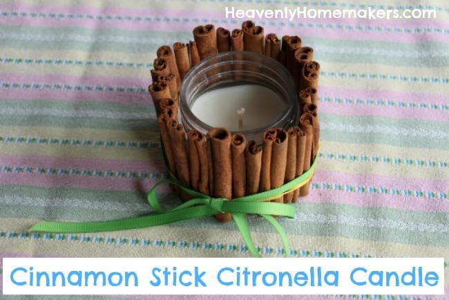 Cinnamon Stick Citronella Candle