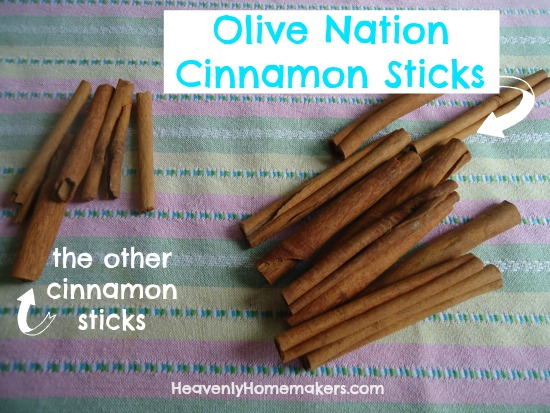 Olive Nation Cinnamon Sticks
