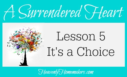Surrendered Heart Lesson 5