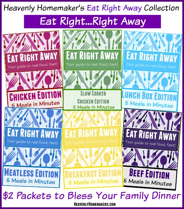 Eat Right Away Packet Collection