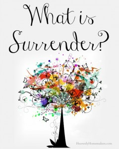 What is Surrender