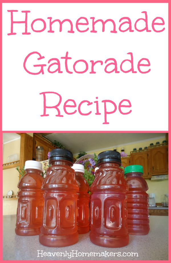 Homemade Gatorade Recipe