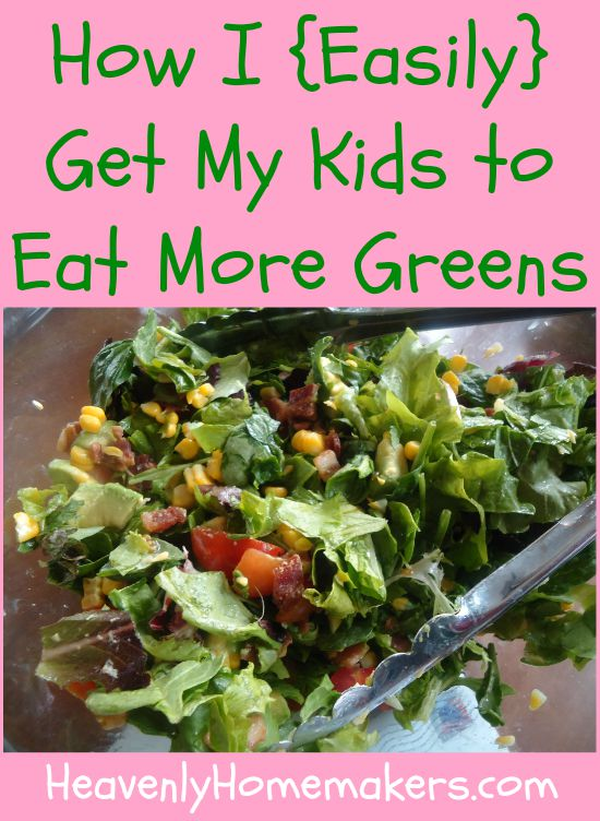 How I Easily Get My Kids to Eat More Greens