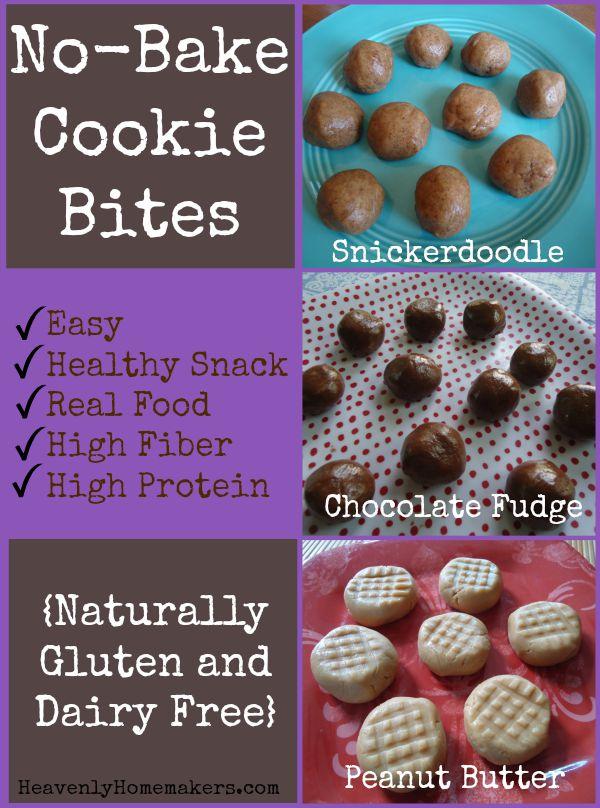 No-Bake Cookie Bites - Easy Recipes!