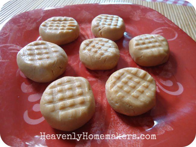 Peanut Butter Cookie Bites - No Bake!