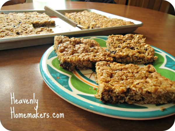 Real Food Monster Cookie Bars
