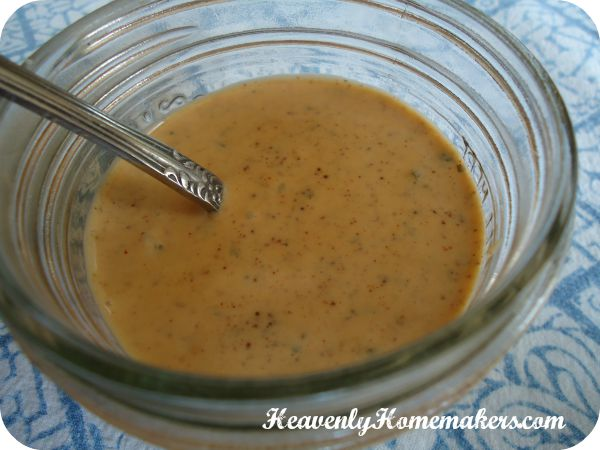 spicy ranch dressing 1