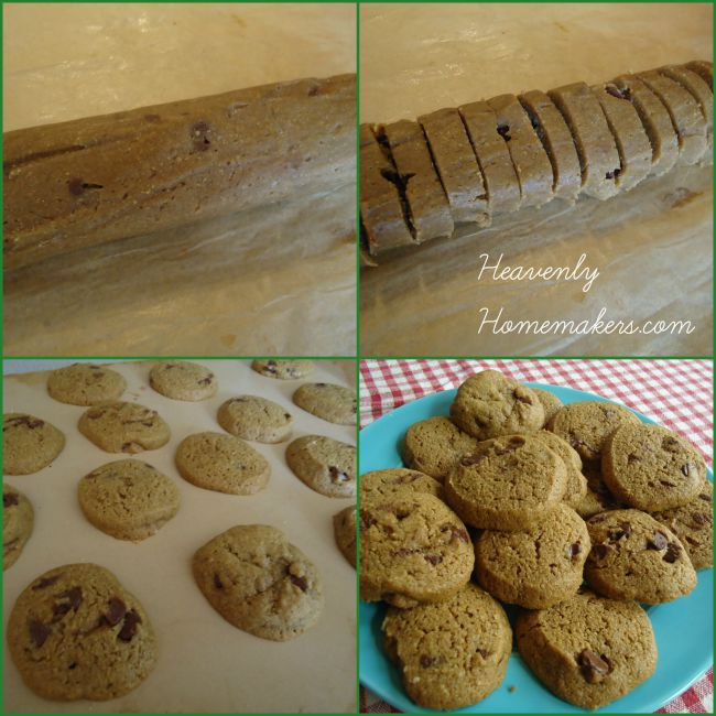 Chocolate Chip Cookie Collage
