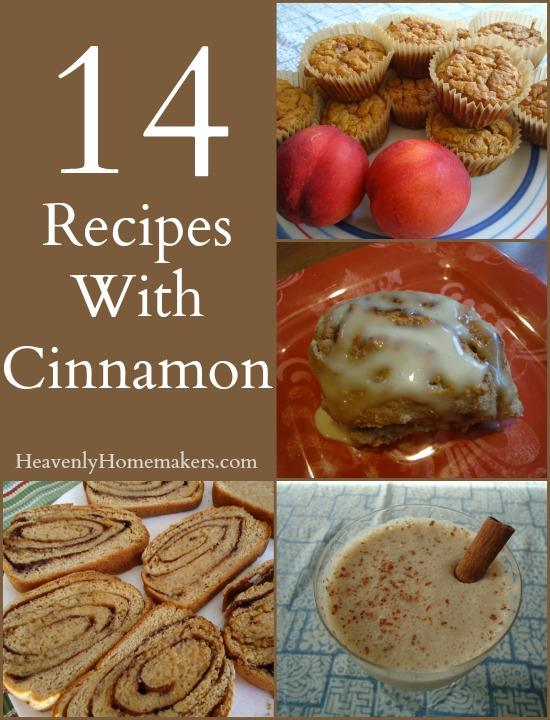 14 Recipes With Cinnamon