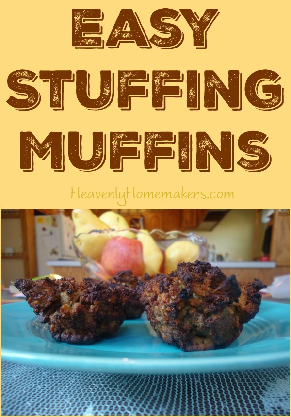 Easy Stuffing Muffins