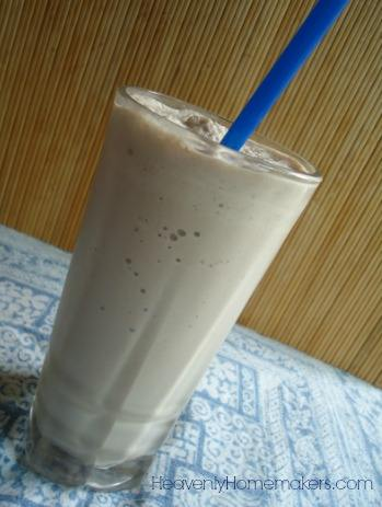 Stevia Sweetened Chocolate Frappe
