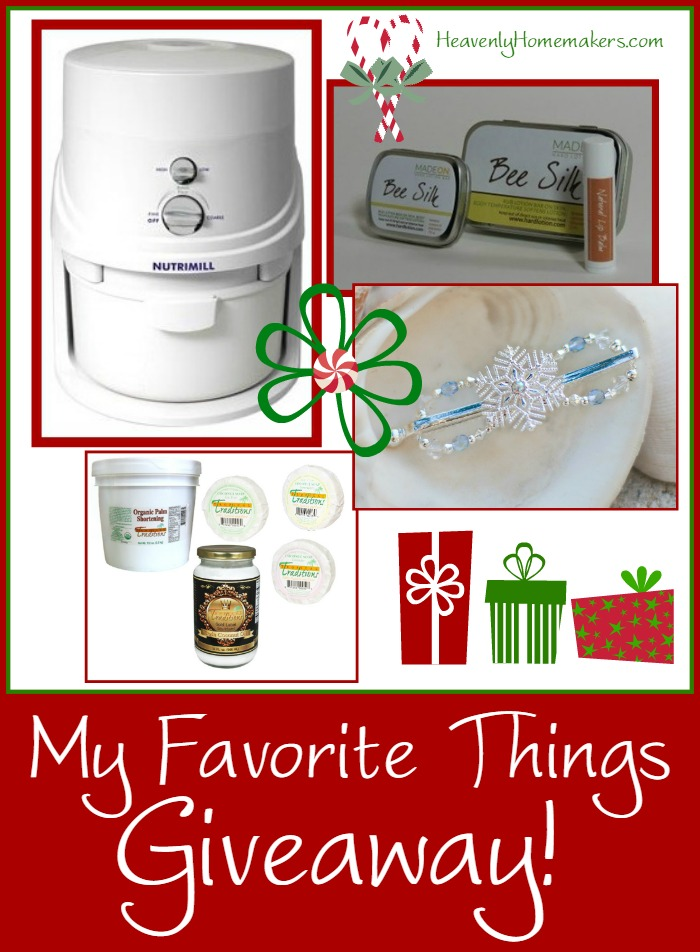 My Favorite Things Christmas Giveaway