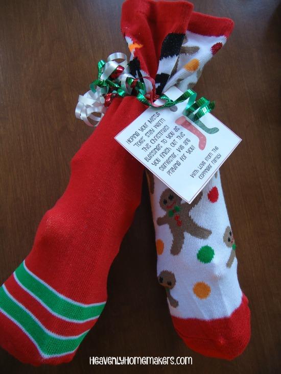 Christmas Sock Gift