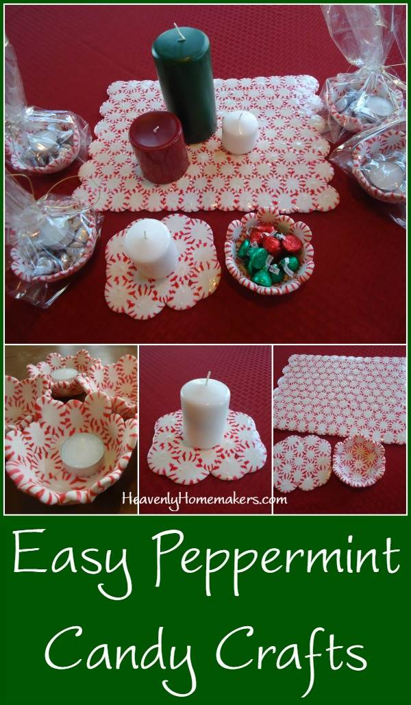 Easy Peppermint Candy Crafts