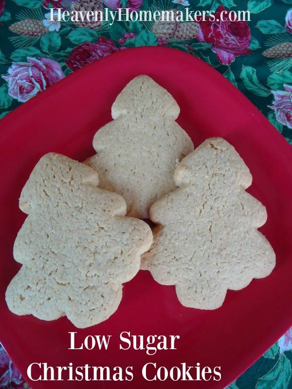 Low Sugar Christmas Cookies (That Don't Taste Low Sugar)