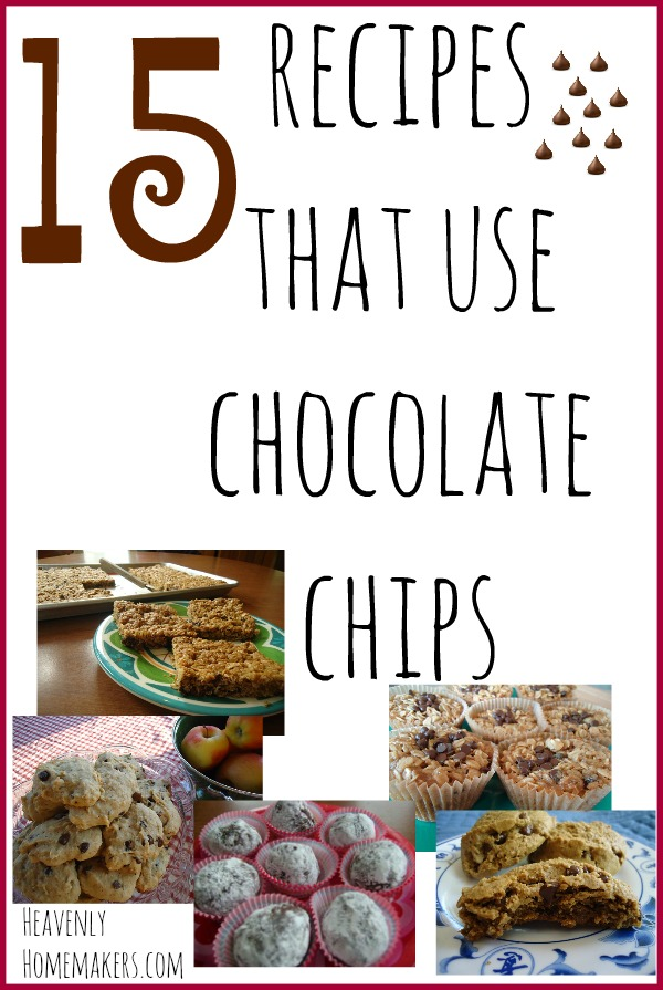 15 Recipes That Use Chocolate Chips