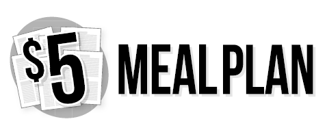 5 meal plan