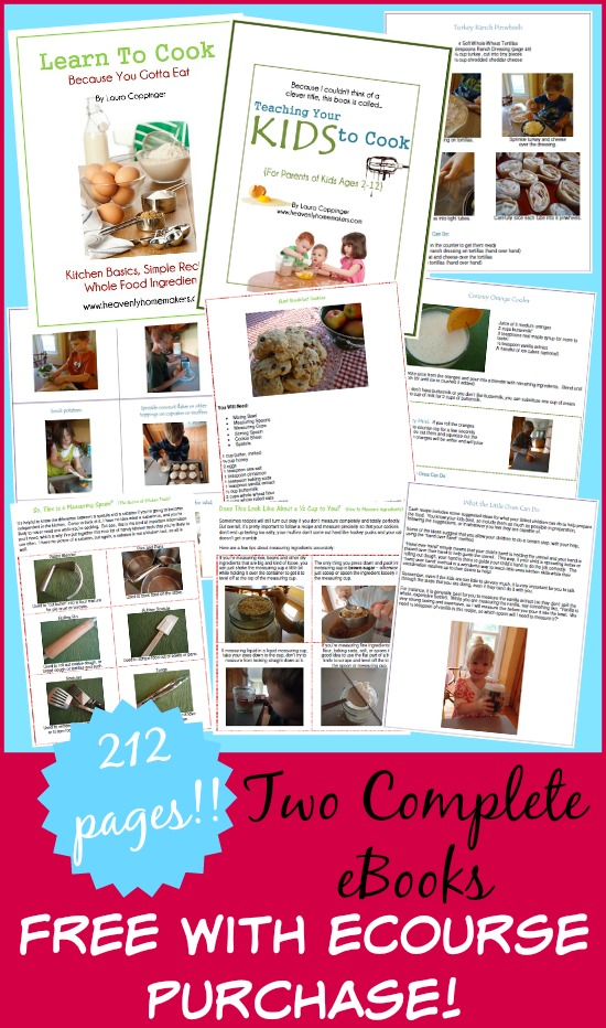 Free Teaching Your Kids to Cook eBooks