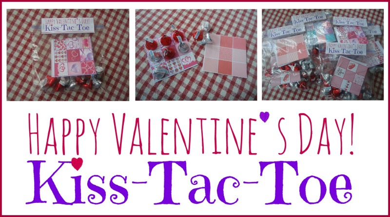 Happy Valentine's Day Kiss Tac Toe Free Download