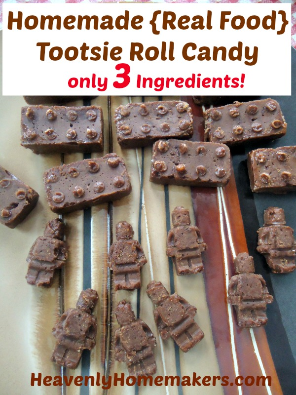 Homemade Real Food Tootsie Roll Candy