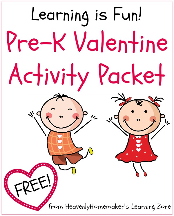 Pre-K Valentine Activity Packet - Free Download