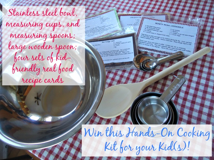 Win a Kids Cooking Kit!