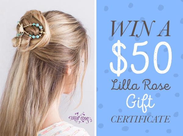 win $50 gift certificate