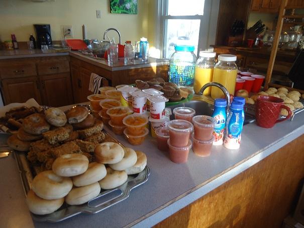 youth rally breakfast