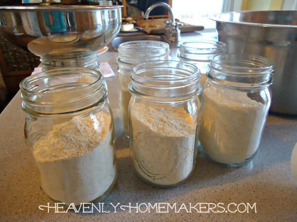 Cornbread Mix in Jars