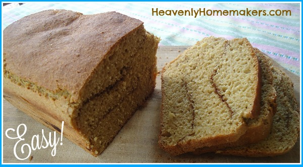 Stir and Pour Cinnamon Bread Recipe