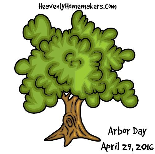 Arbor Day April 29, 2016