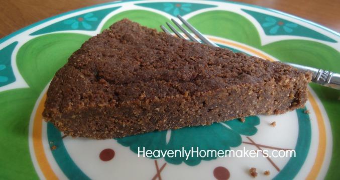 Low Sugar Fudge Brownie