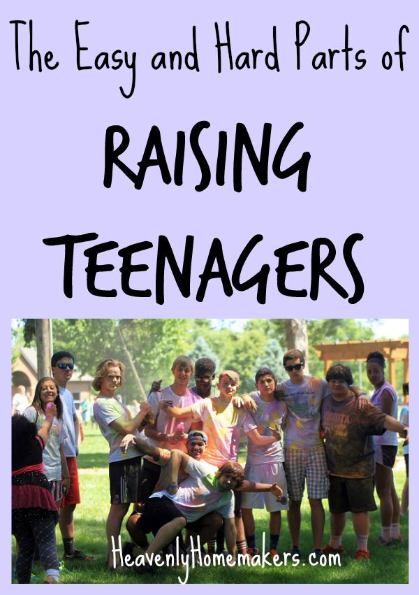 The Easy and Hard Parts of Raising Teenagers