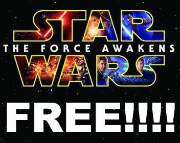 star wars free!