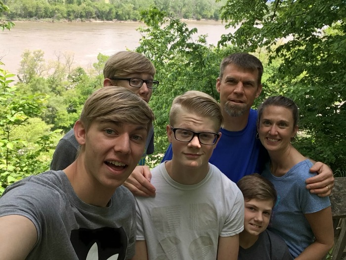 Family at Nebraska City