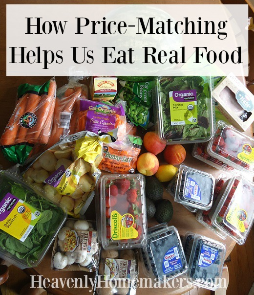 How Price-Matching Helps Us Eat Real Food