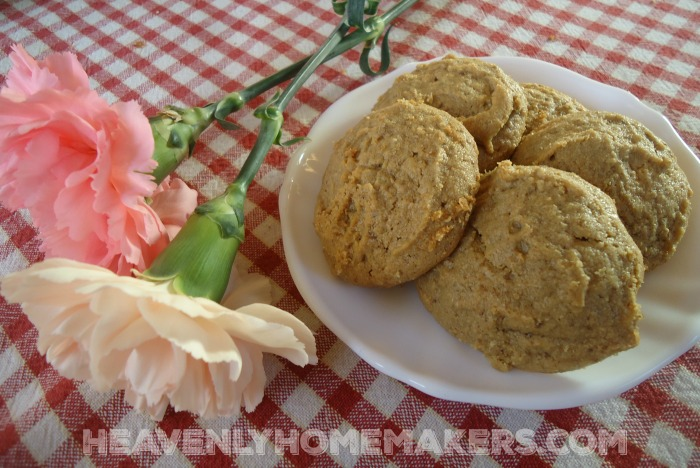 Low Sugar Peanut Butter Cookies