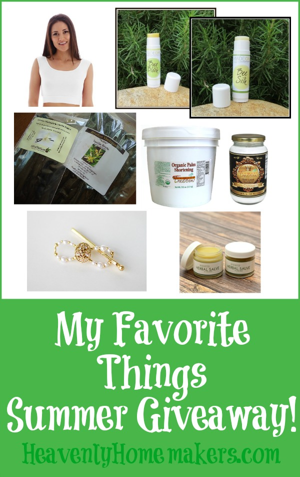 My Favorite Things Summer Giveaway
