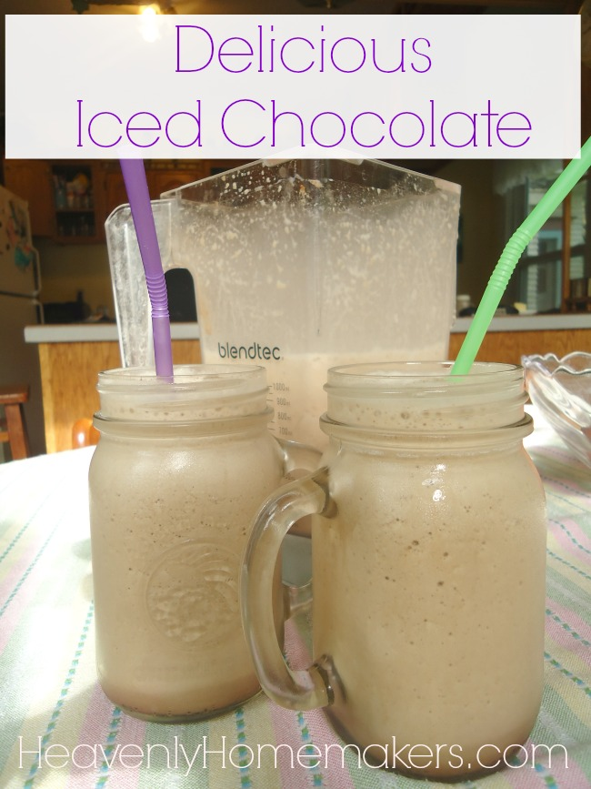 Delicious and Easy Iced Chocolate