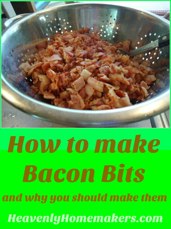 How to Make Bacon Bits and Why You Should Make Them