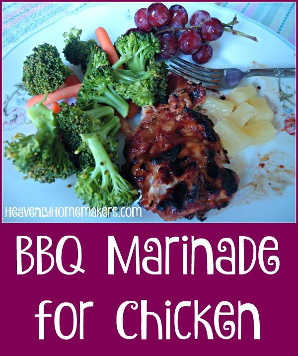 Matt's BBQ Marinade