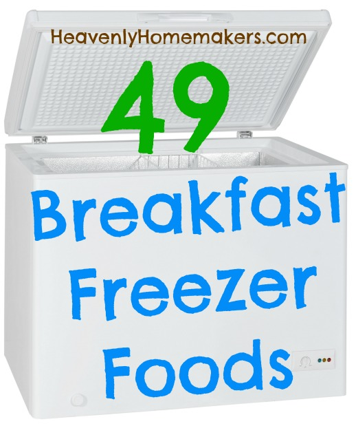 49 Breakfast Freezer Foods